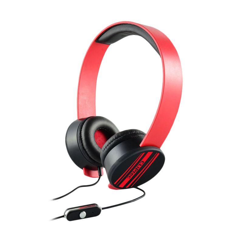 Cliptec Multimedia Stereo BMH832 Merah Headset