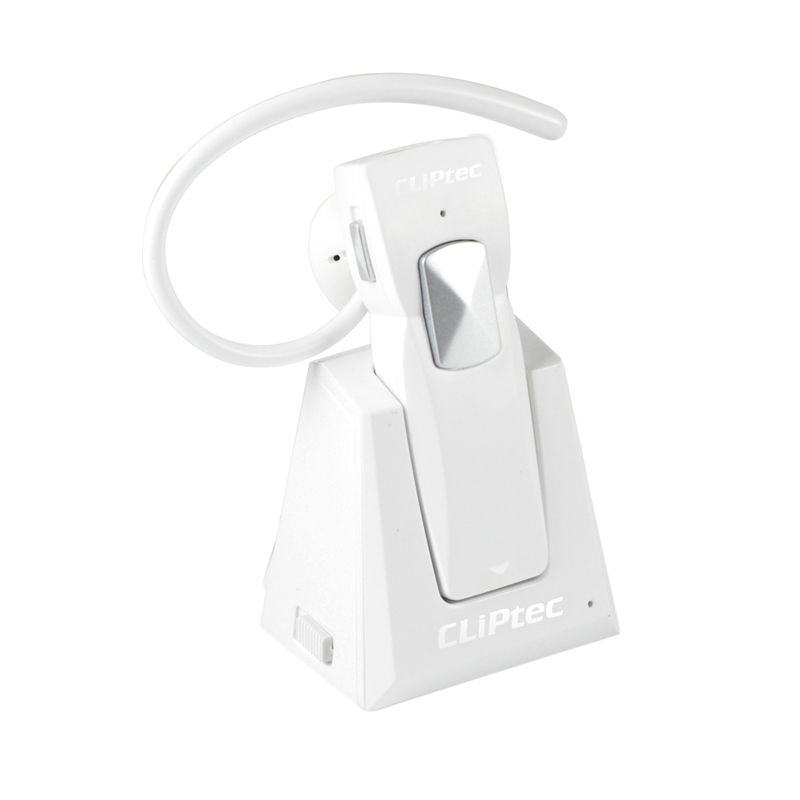 Cliptec 3.0 Stereo PBH220 Putih Bluetooth Headset