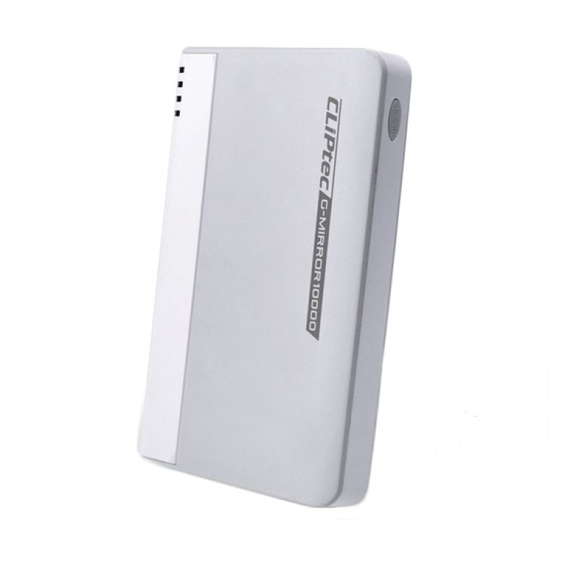 Cliptec PPP410 Original Abu-abu PowerBank [10000 mAh]