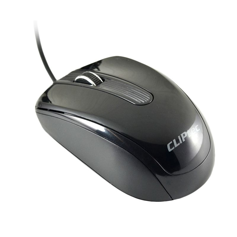 Cliptec RZS967 Hitam Mouse Kabel USB