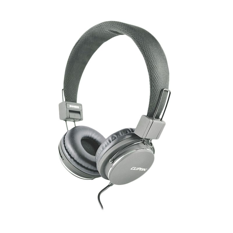 Cliptec Stereo Multimedia BMH835 Abu-abu Headset