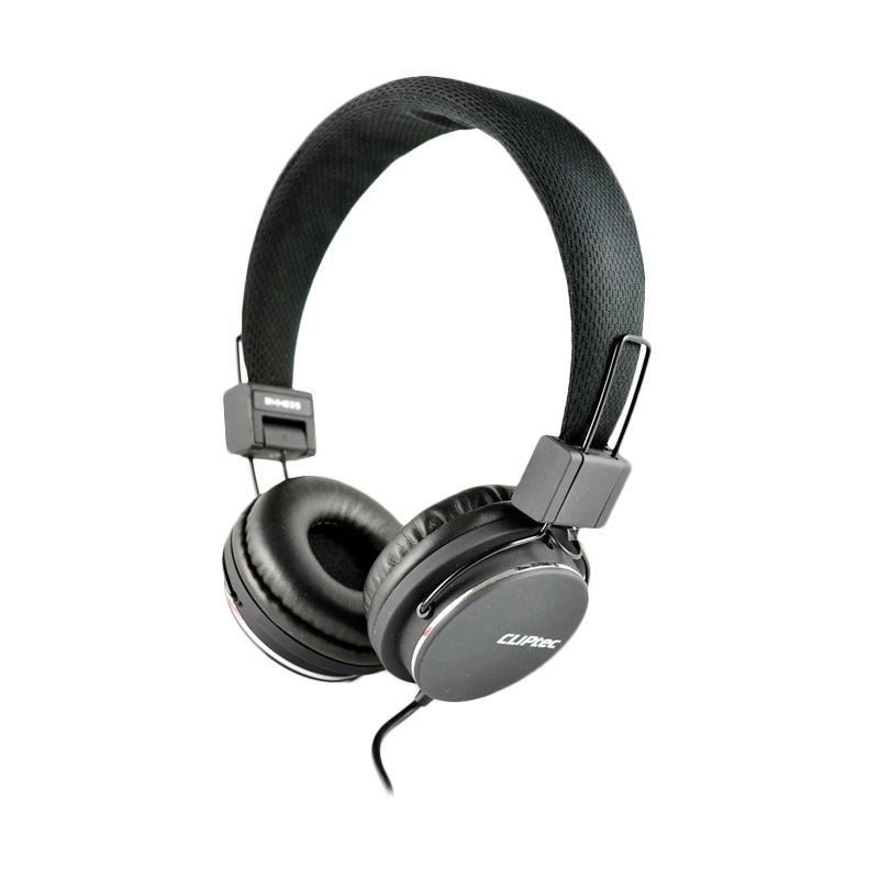 Cliptec Stereo Multimedia BMH835 Hitam Headset ...