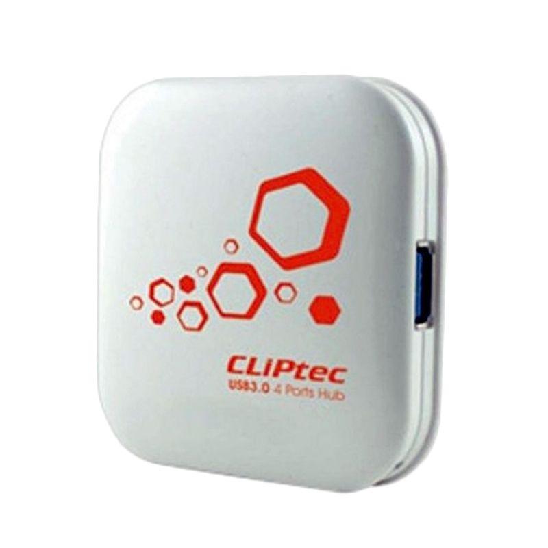 Cliptec Thunder RZH 313 White USB Hub [4 Ports]