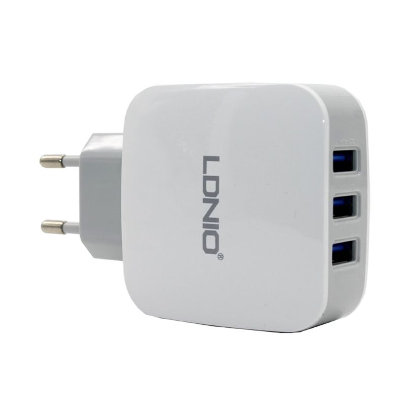 LDNIO DL-AC70 USB Charger [3 Output]