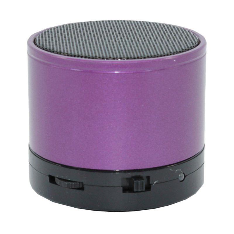 M-Tech Cube Ungu Bluetooth Speaker