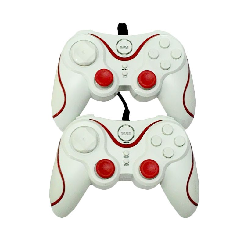 M-Tech Double Getar Inferno White Gaming Pad
