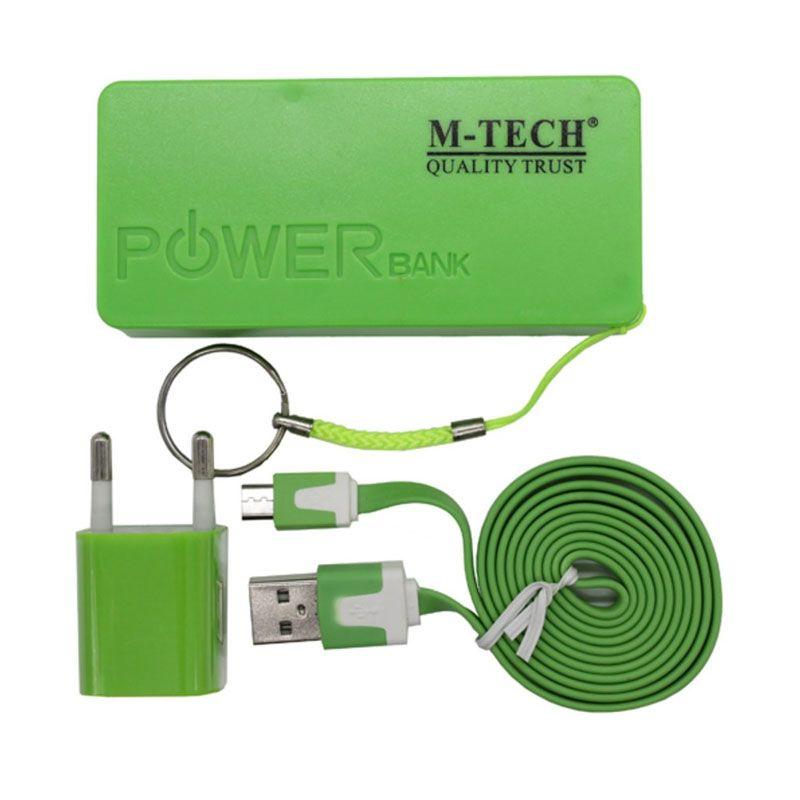 M-Tech Komplit Set Hijau PowerBank [4800mAh]