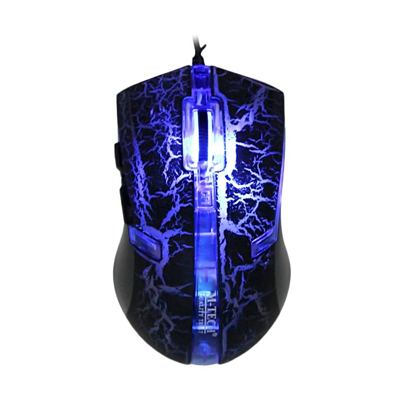 M-Tech Legend 5160 Biru Gaming Mouse