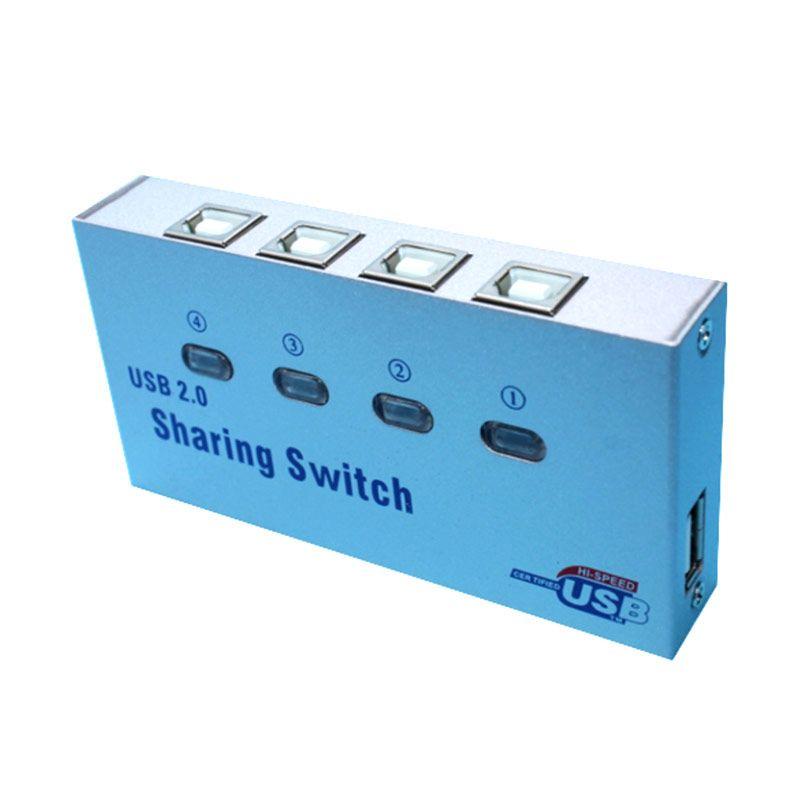 USB Parallel Printer Switch Box [4 Port]