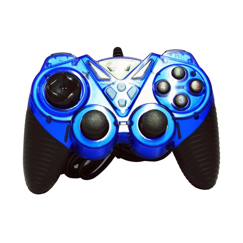 Welcom Single Getar Turbo 8400 Biru Gaming Pad