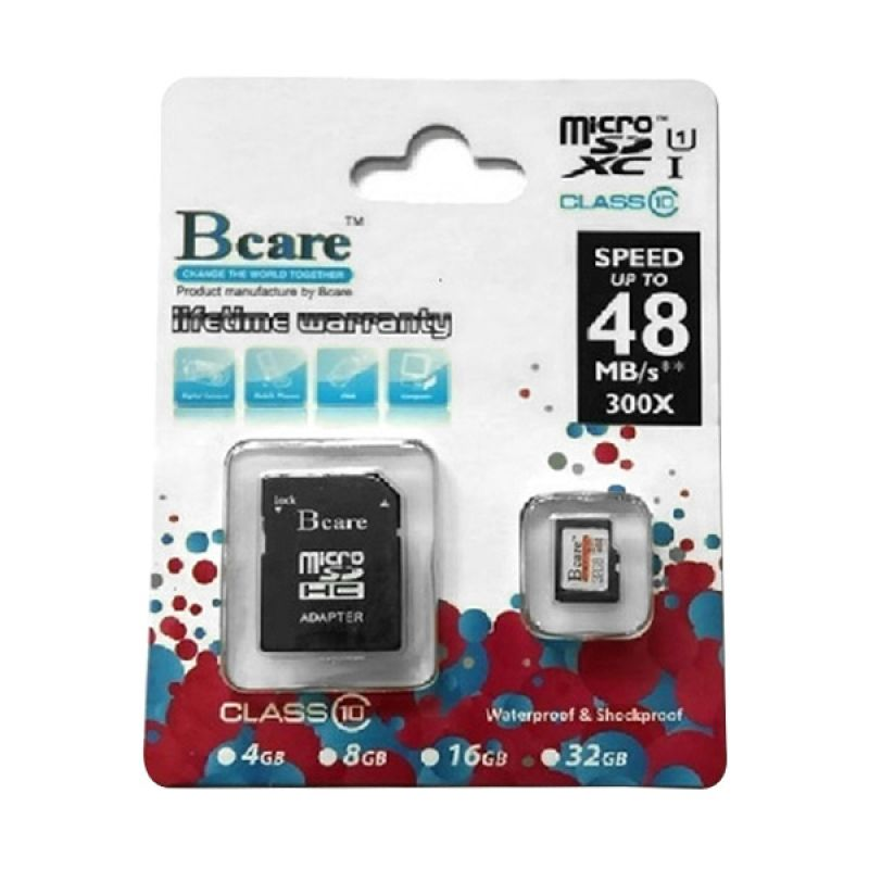 Bcare MicroSD Class 10 Memory Card [32 GB]