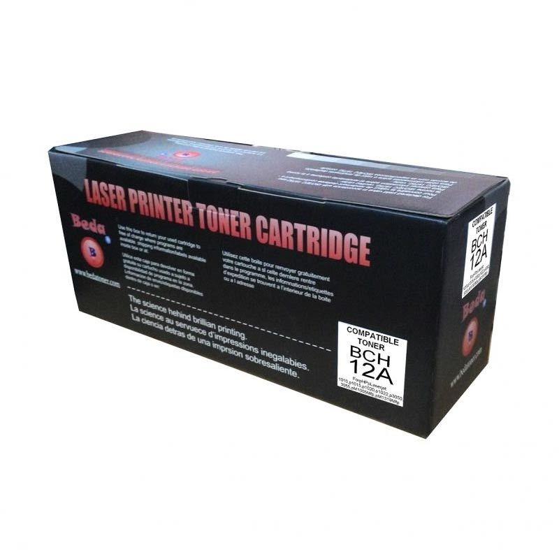 Beda Compatible Toner Cartridge 12 A - Monochrome