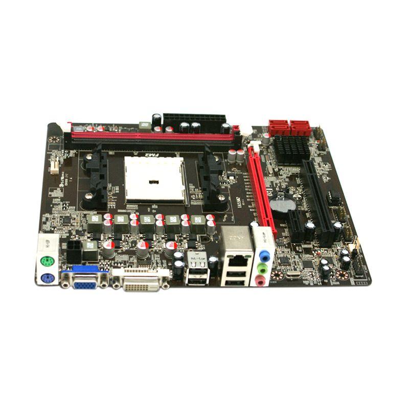Jetway MB AMD J-TA55M2 Komponen