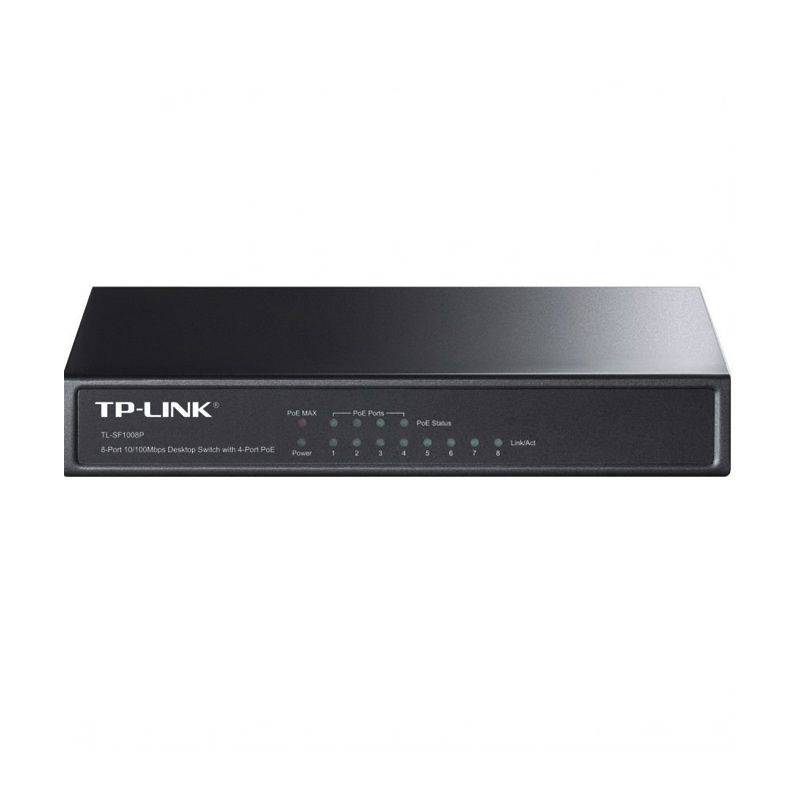 Tp-Link 8-port 10/100 M Desktop PoE Switch TL-SF1008P