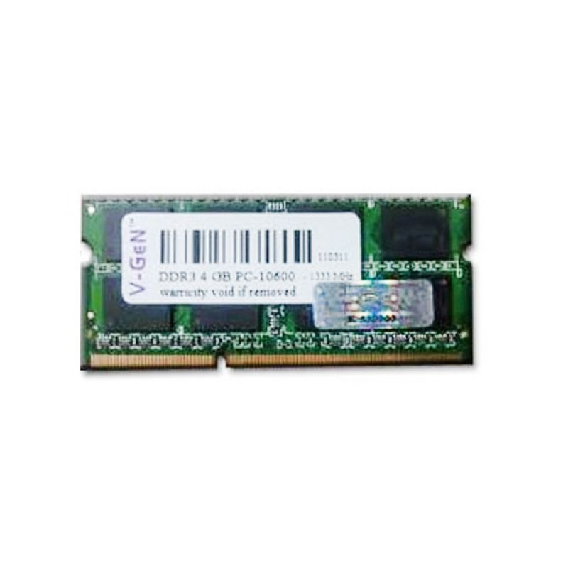 V-Gen Memori RAM Notebook [2GB/DDR3-PC10600]