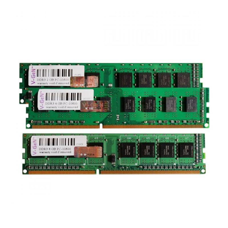 Jual V Gen Memori RAM PC DDR3 4GB PC10600 12800 Online