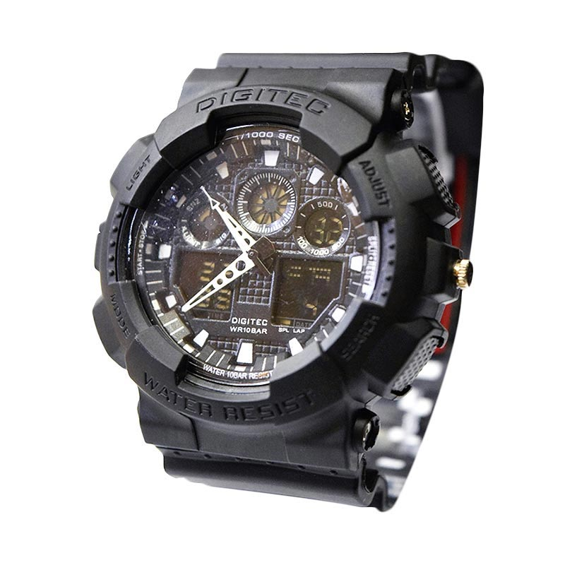 Digitec DG2011TFBL Full Black Jam Tangan Pria