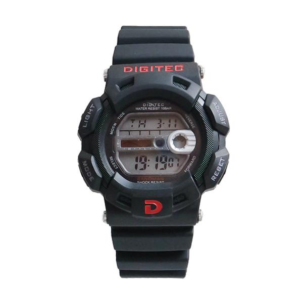Digitec DG2087T Digital Jam Tangan Pria Wanita - Hitam