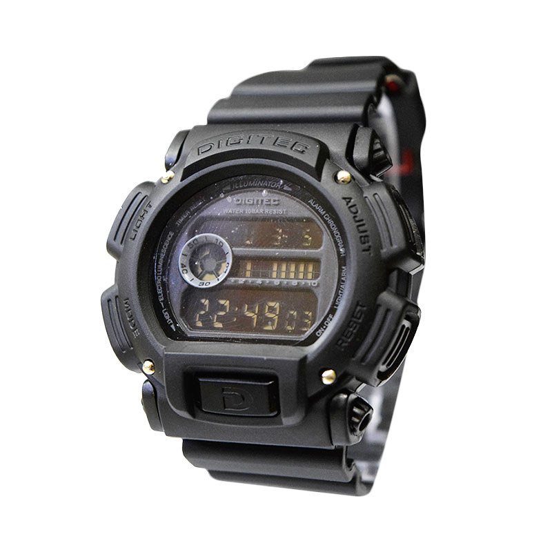 Digitec DG2090TFBL Full Black Jam Tangan Pria
