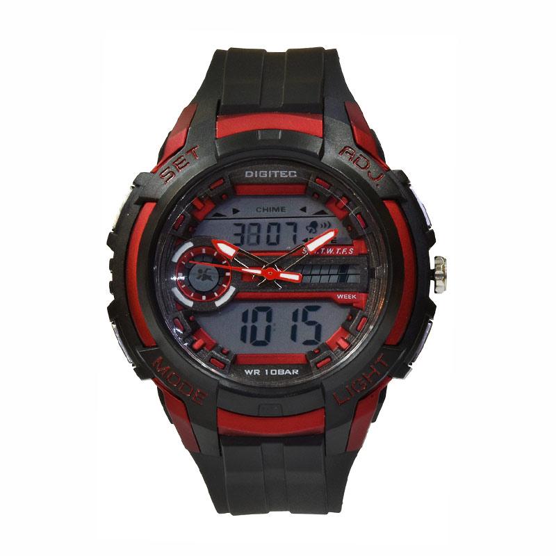 Digitec DG3025TBRD Jam Tangan Pria - Black Red