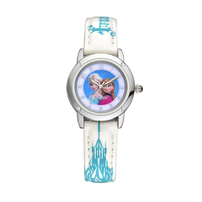 Disney Frozen FZ5460-W Anna Elsa Jam Tangan Anak - Putih
