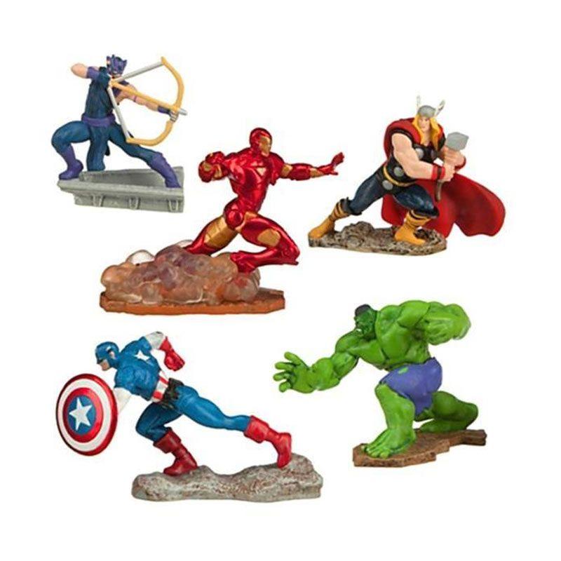 Disney Marvel Avengers 5 Pcs Play Set Original Item