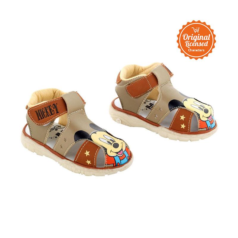 harga Disney Mickey Baby Cicit CL011MC-BI11BRW Sepatu Anak Laki Laki - Cokelat Blibli.com
