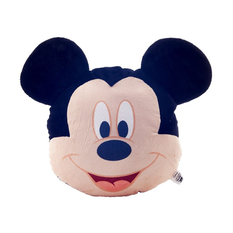 Disney Mickey Mouse Head Shape Cushion Bantal