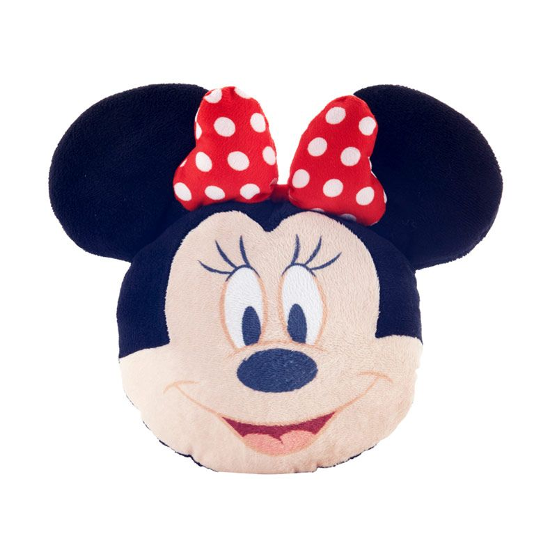 Disney Minnie Mouse Head Set Bantal