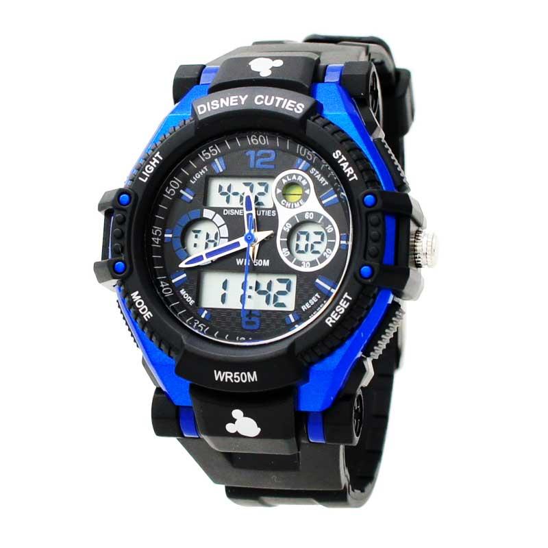Disney MS5549-L2 Jam Tangan Anak - Blue Black
