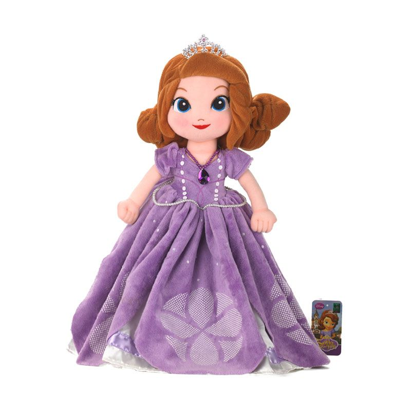 Disney Sofia the First Plush Purple Boneka [19 Inch]