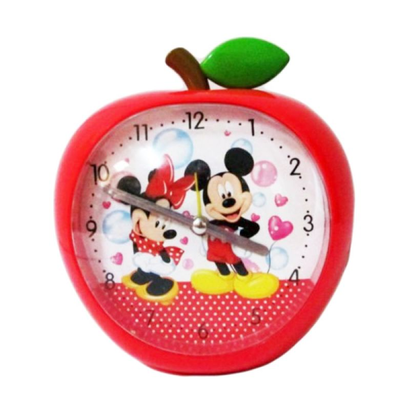 Disney Jam Meja Strawberry Mickey Minnie Mouse