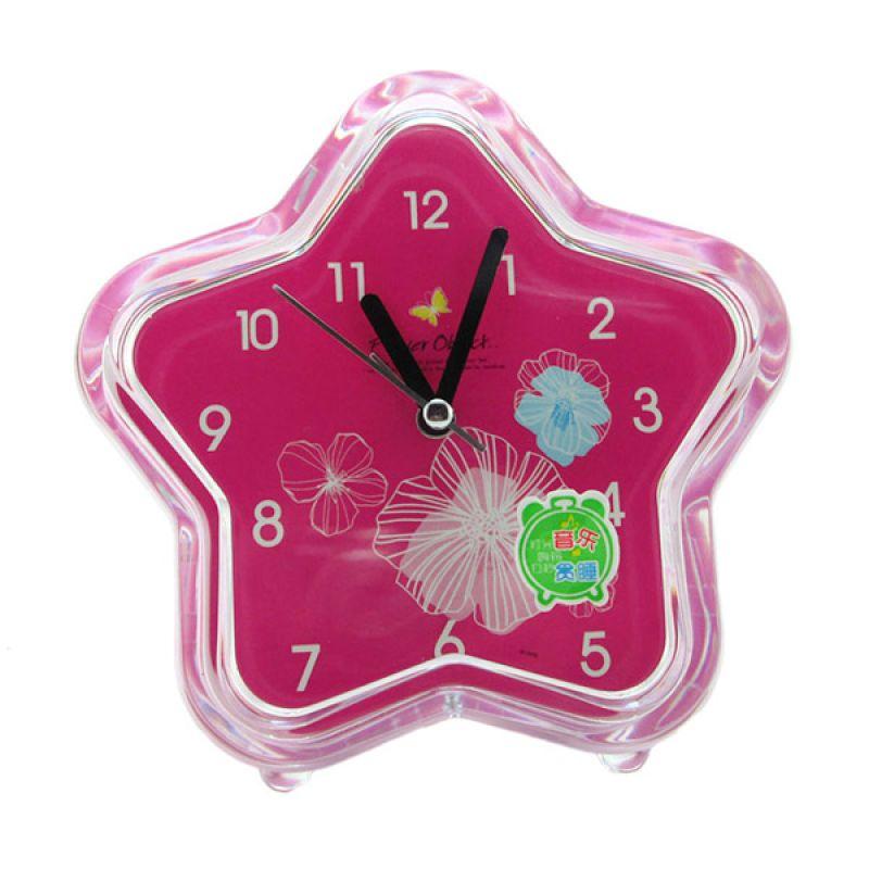 Disney Bintang Flowers Jam Alarm