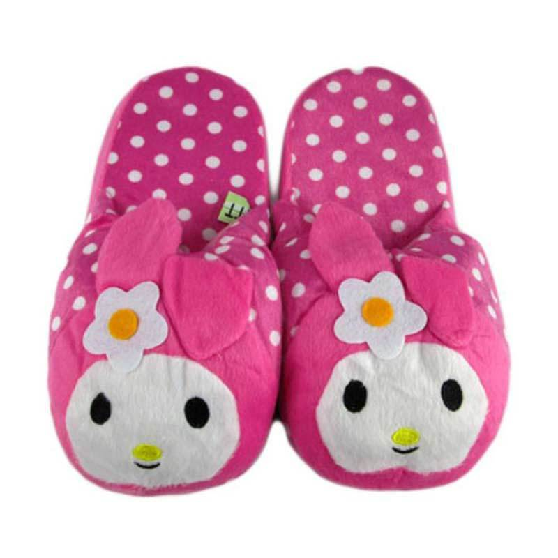 Disney My Melody Polkadot Pink Sandal Boneka [Dewasa]