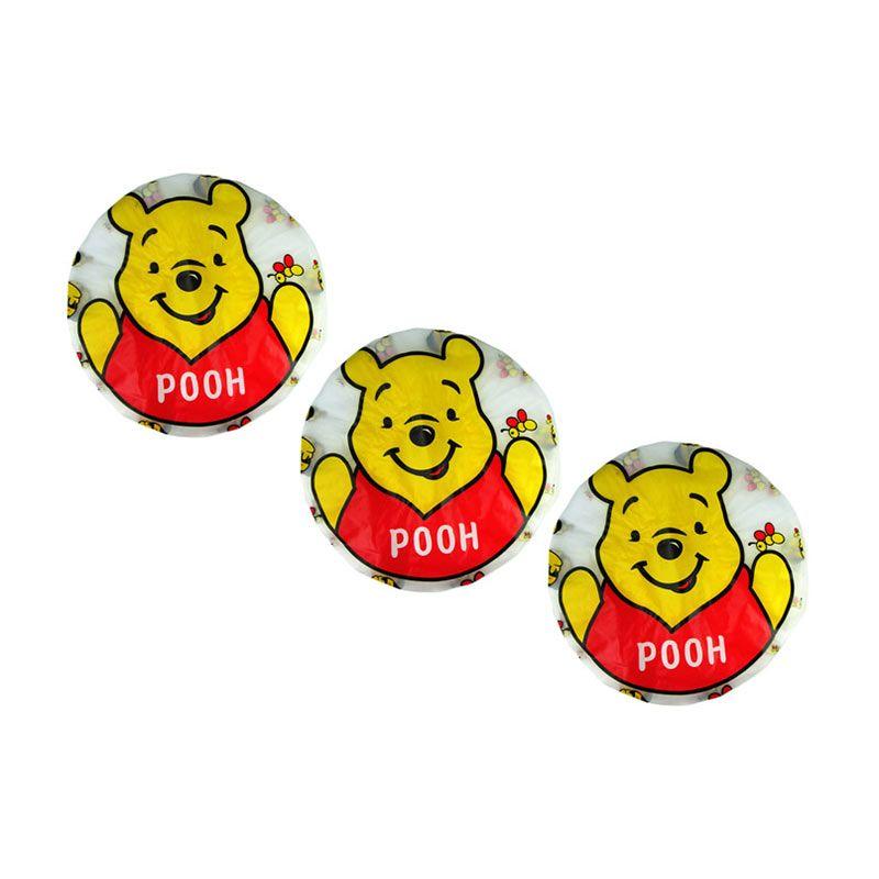 Disney Winnie The Pooh Shower Cap [3 Pcs]