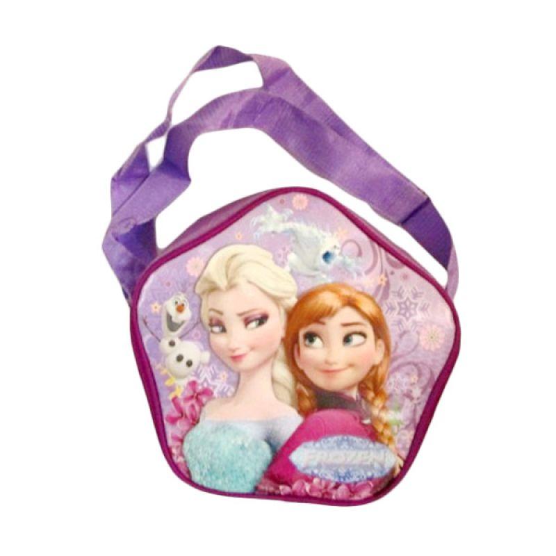 Disney Bintang Frozen Ungu Tas Selempang