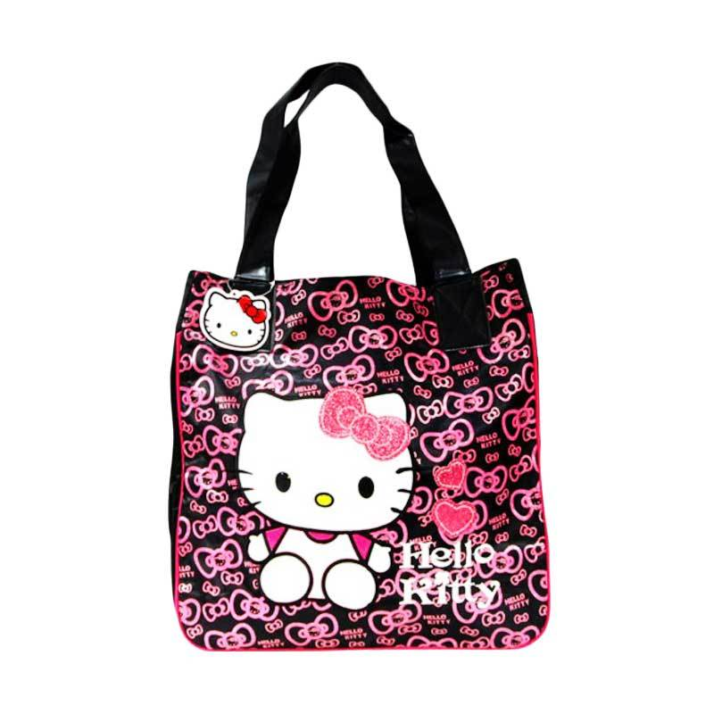 Disney Hello Kitty 8815 Hitam Tas Tangan