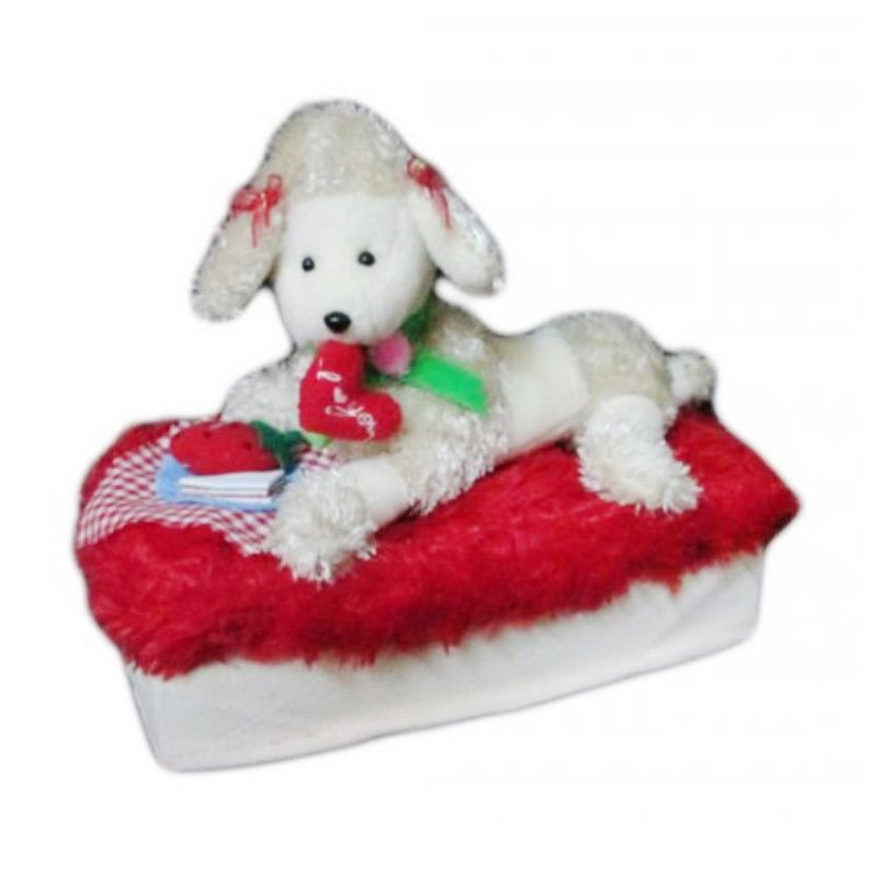 Disney Dog Dinner Red Tempat Tissue
