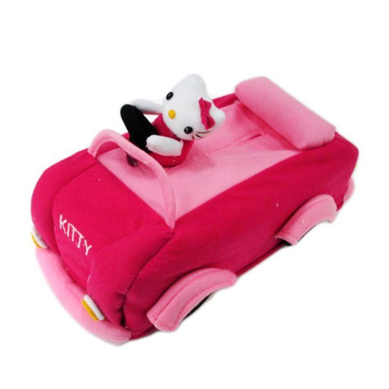 Disney Tempat Tissue Mobil Hello Kitty