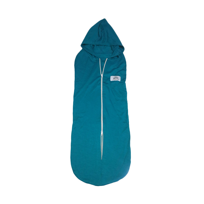 Dita Baby Collection DBT001 Bedong Instan Topi Resleting - Tosca