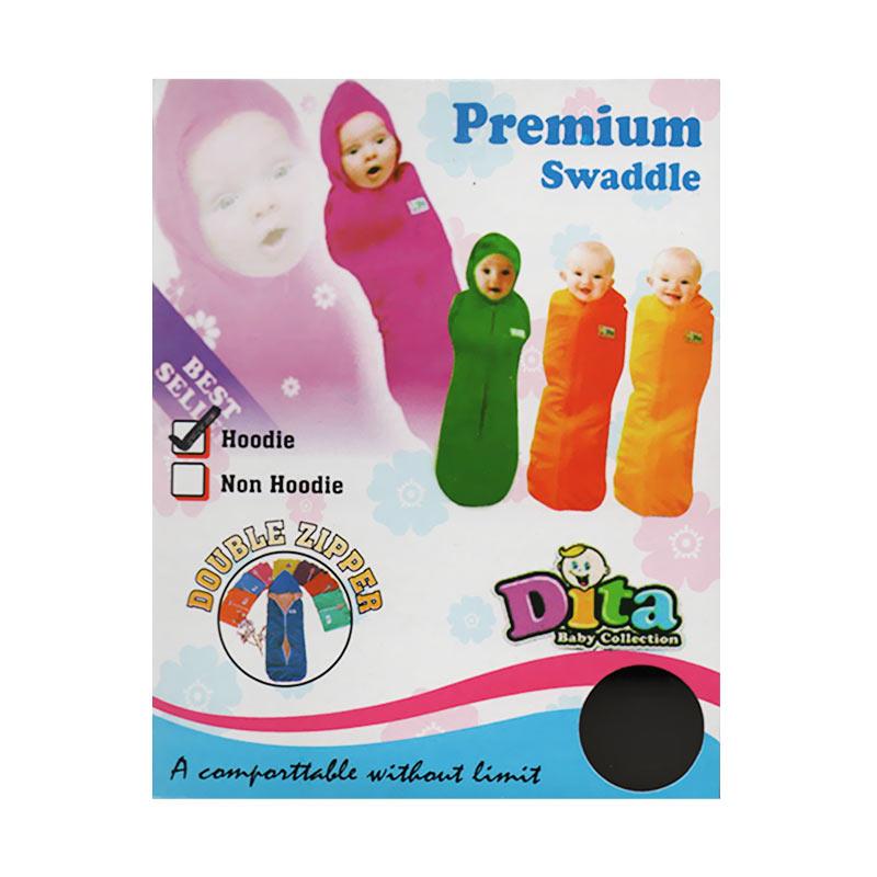 Dita Baby Collection DBT001 Topi Resleting Bedong Instan - Hijau