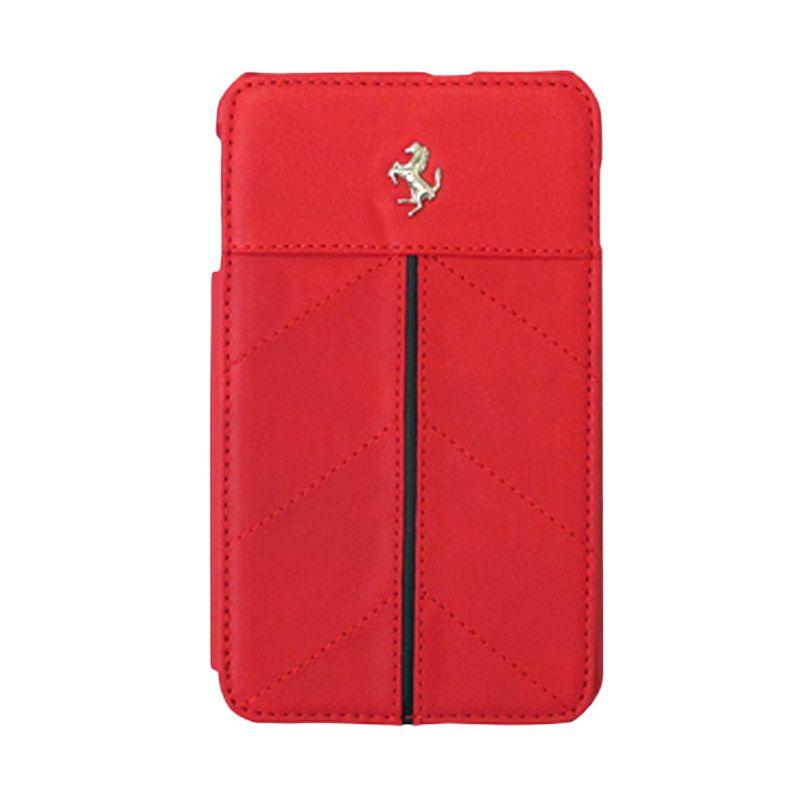 Ferrari Original Red Flip Cover Casing for Samsung Galaxy Note 1 N7000