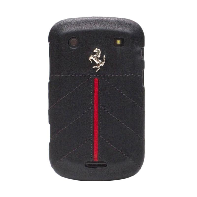 Ferrari Original Hard Case Black for Blackberry Bold Dakota 9900 Casing