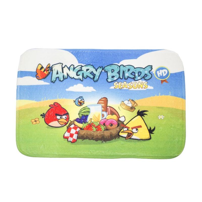 Daftar Harga Dixon Character Angry Birds Seasons Keset Busa - Multicolor [40 x 60 cm
