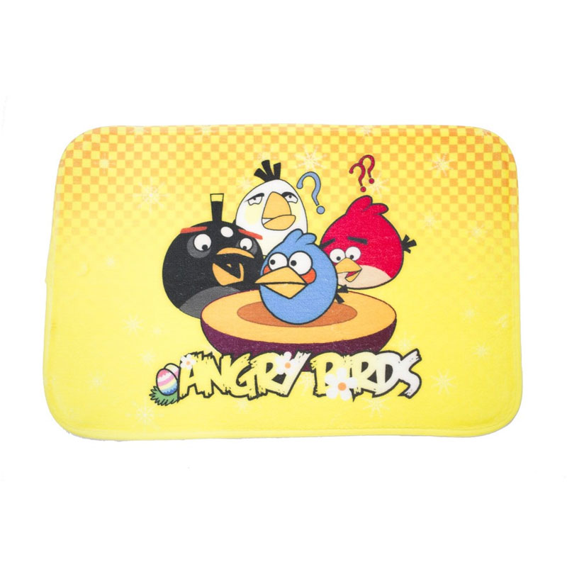 Dixon Character Angry Birds Yellow Keset Busa - Multicolor [40 x 60 cm]