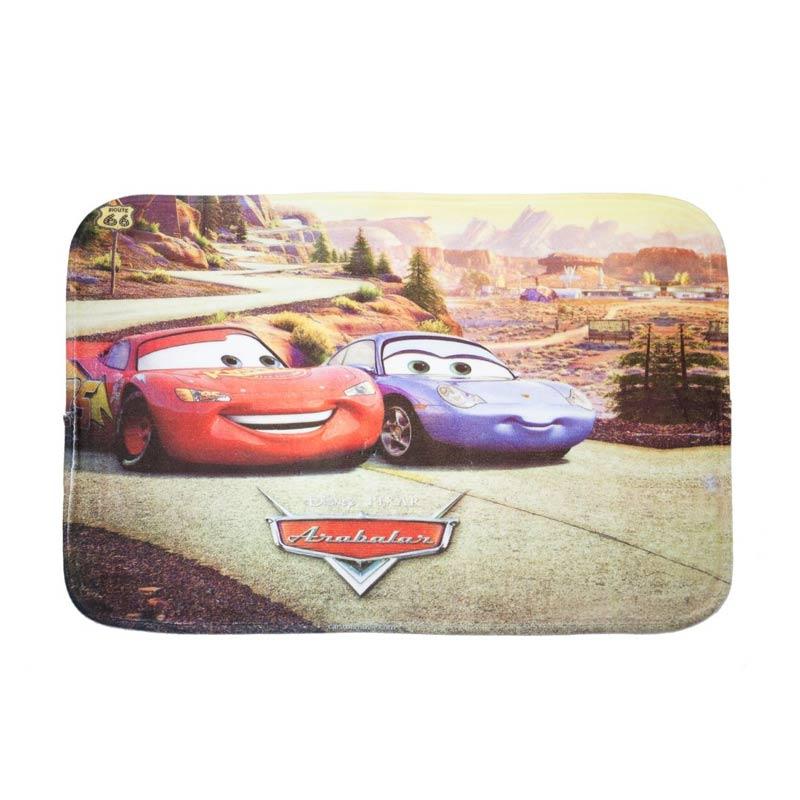 Dixon Character Cars 4 Keset Busa - Multicolor [40 x 60 cm]
