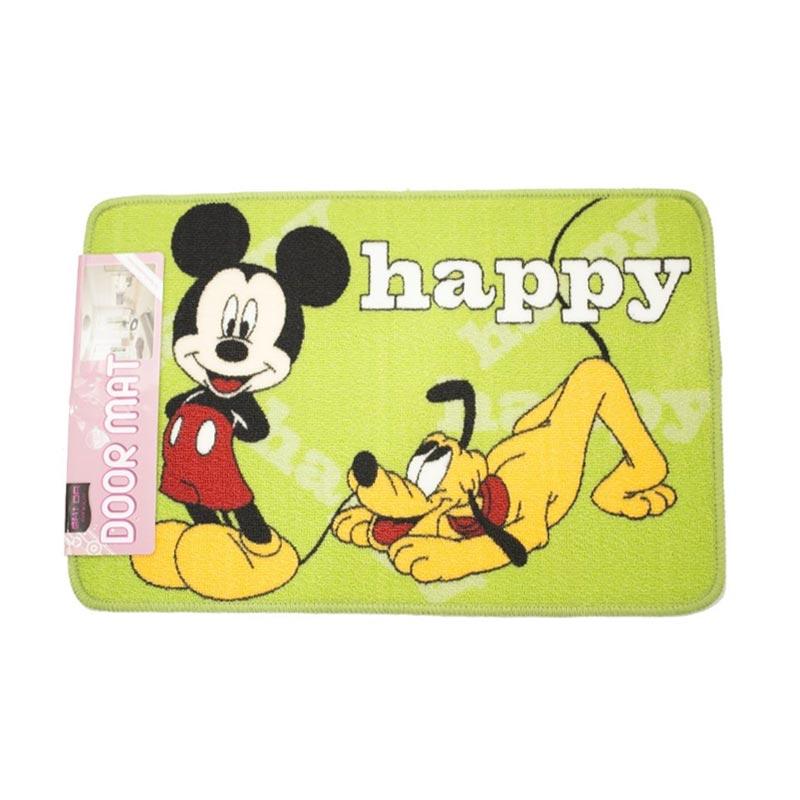 Kelebihan Kekurangan Dixon Character Mickey Pluto Keset Akrilik - Multicolour [40x60 cm] Dan Harganya