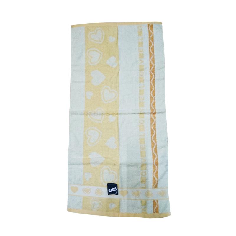 Dixon DX2019 Handuk Mandi Anak - Kuning [50x100 cm]