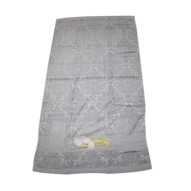Dixon DX27245X Handuk Mandi Anak - Grey [50 x 100 cm]