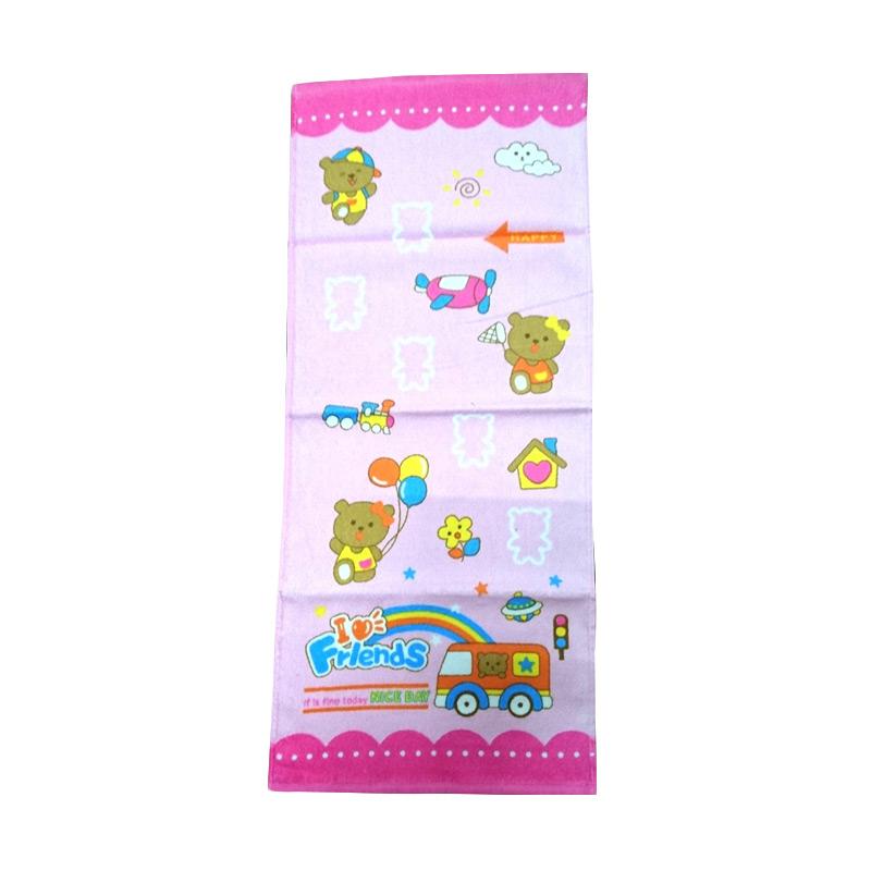Dixon DX6191 Handuk Muka - Pink [35x80cm]